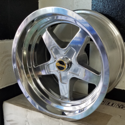 OS FORMULA DRAG 15X8 POLISHED