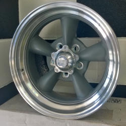American Racing Torqu Thrust Grey 17 x 7